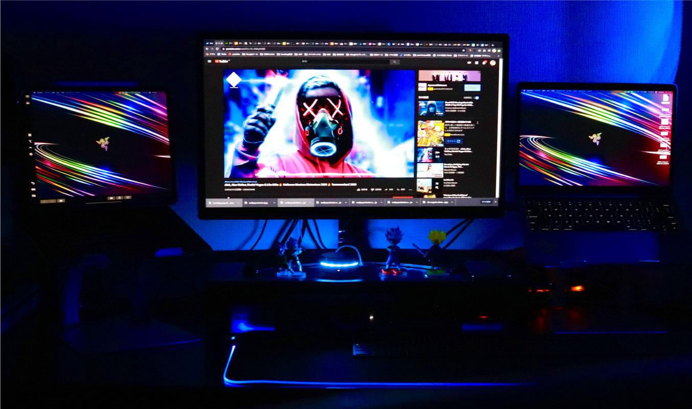 MacBook Proをデスクトップ化に必要な3種の神器